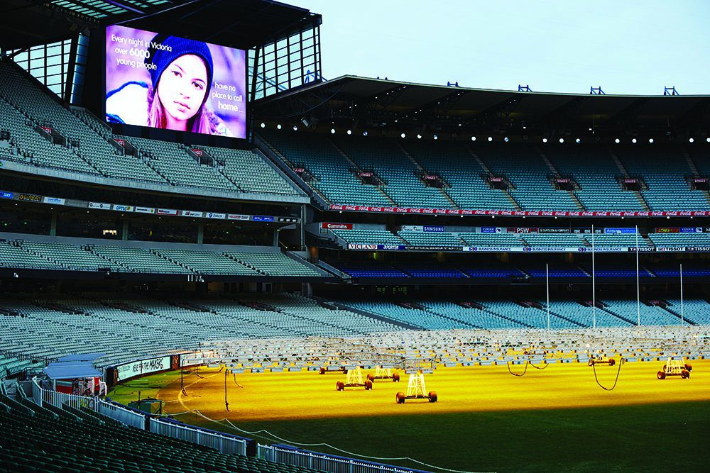 Stadium sleep at the G